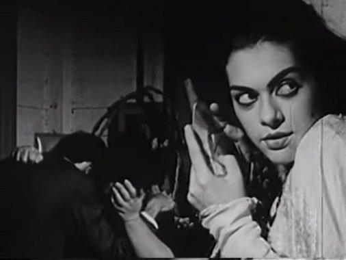 Fotograma del videoclip cubano La tísica, Grupo Experimental Cubanacán-ICAIC.