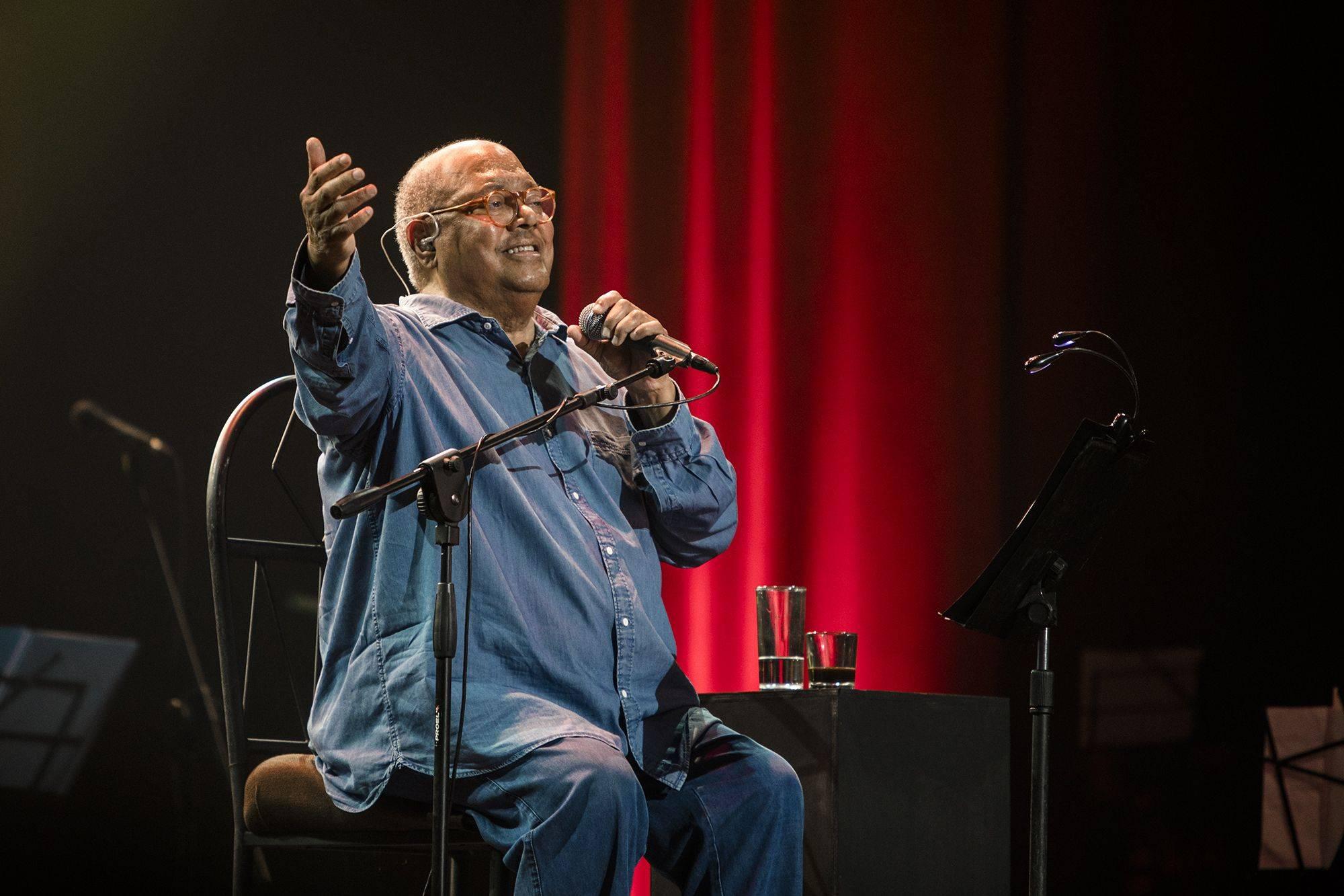 Pablo Milanés cantó a La Habana. Foto: Larisa López.
