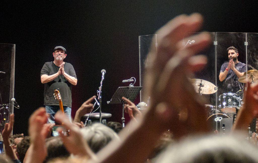 Concert by Silvio Rodríguez at Luna Park, Buenos Aires, Argentina, October 2018. Photo: Kaloian.