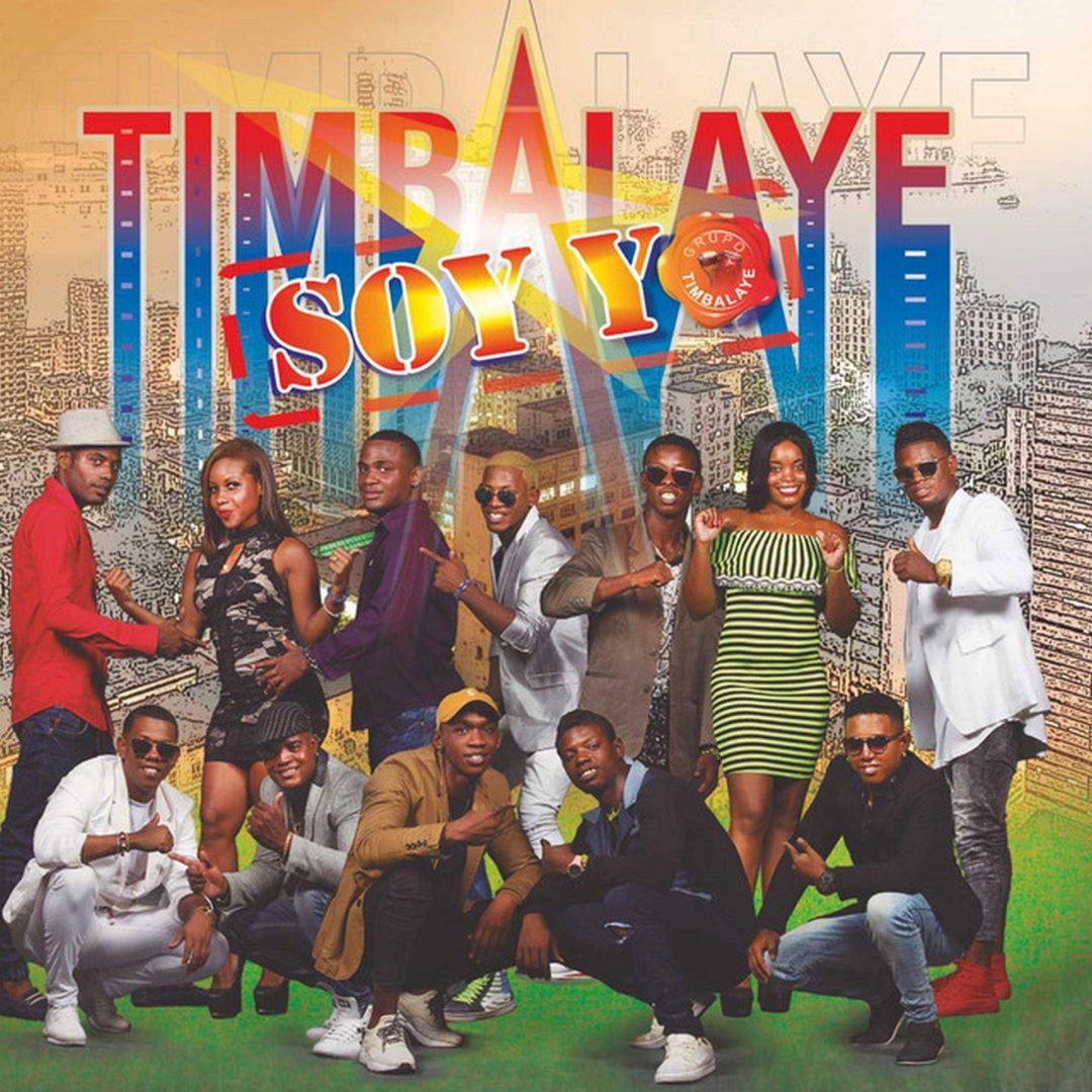 "Cover of the album ""Timbalaye soy yo"", by Timbalaye."