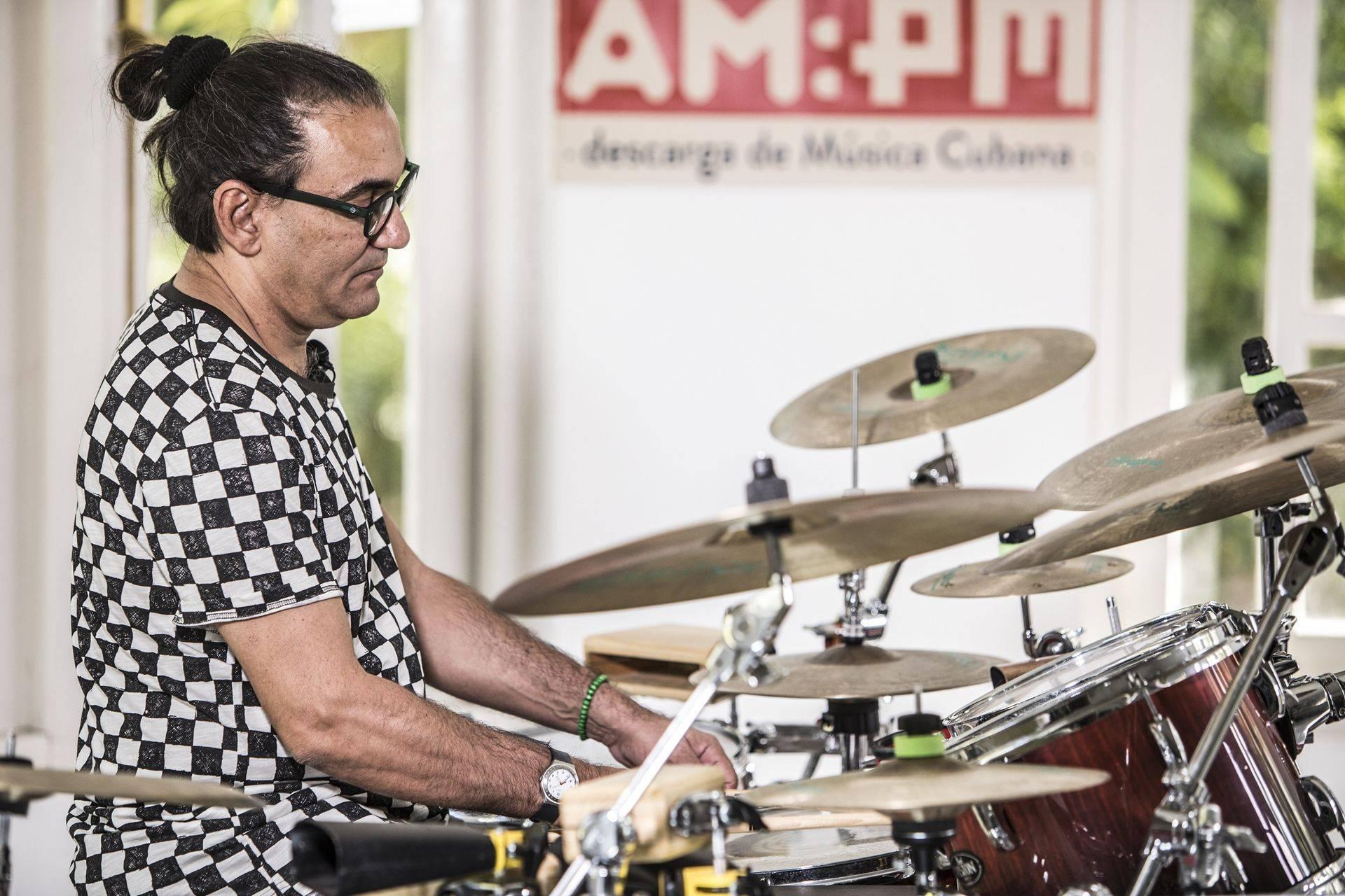 Horacio El Negro Hernández. Foto: Larisa López / Magazine AM:PM.