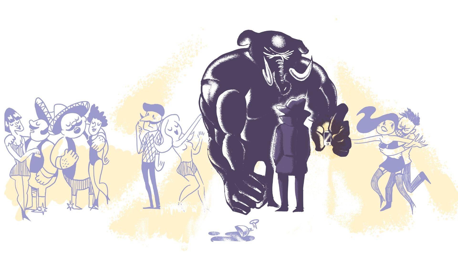Illustration: Mayo Bous / Magazine AM: PM.