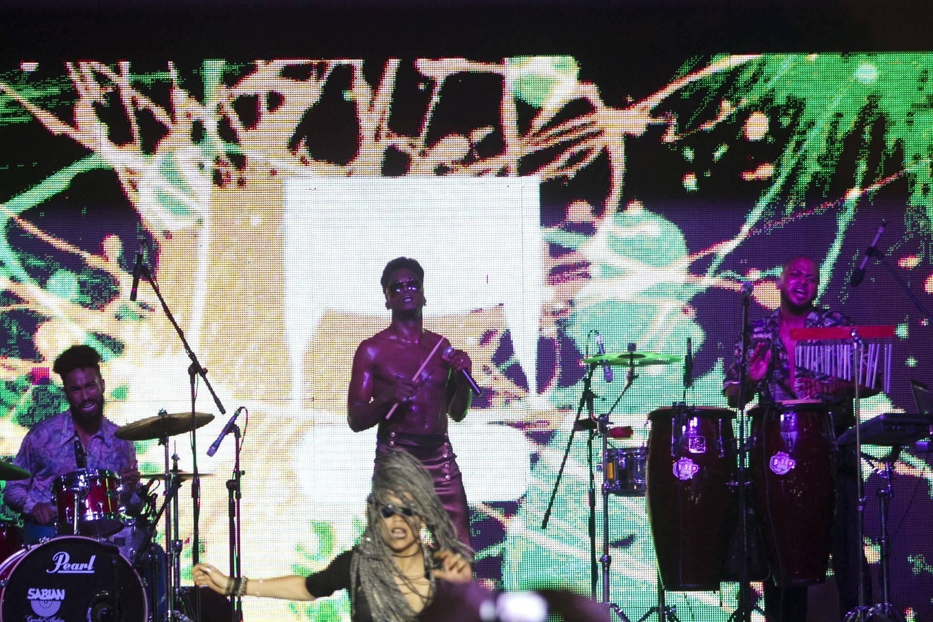 Cimafunk concert at La Tropical. Photo: Abel Carmenate / Magazine AM: PM.