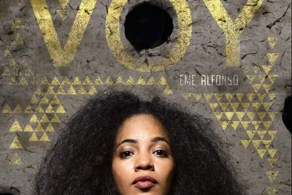 Portada del álbum Voy, de Eme Alfonso.