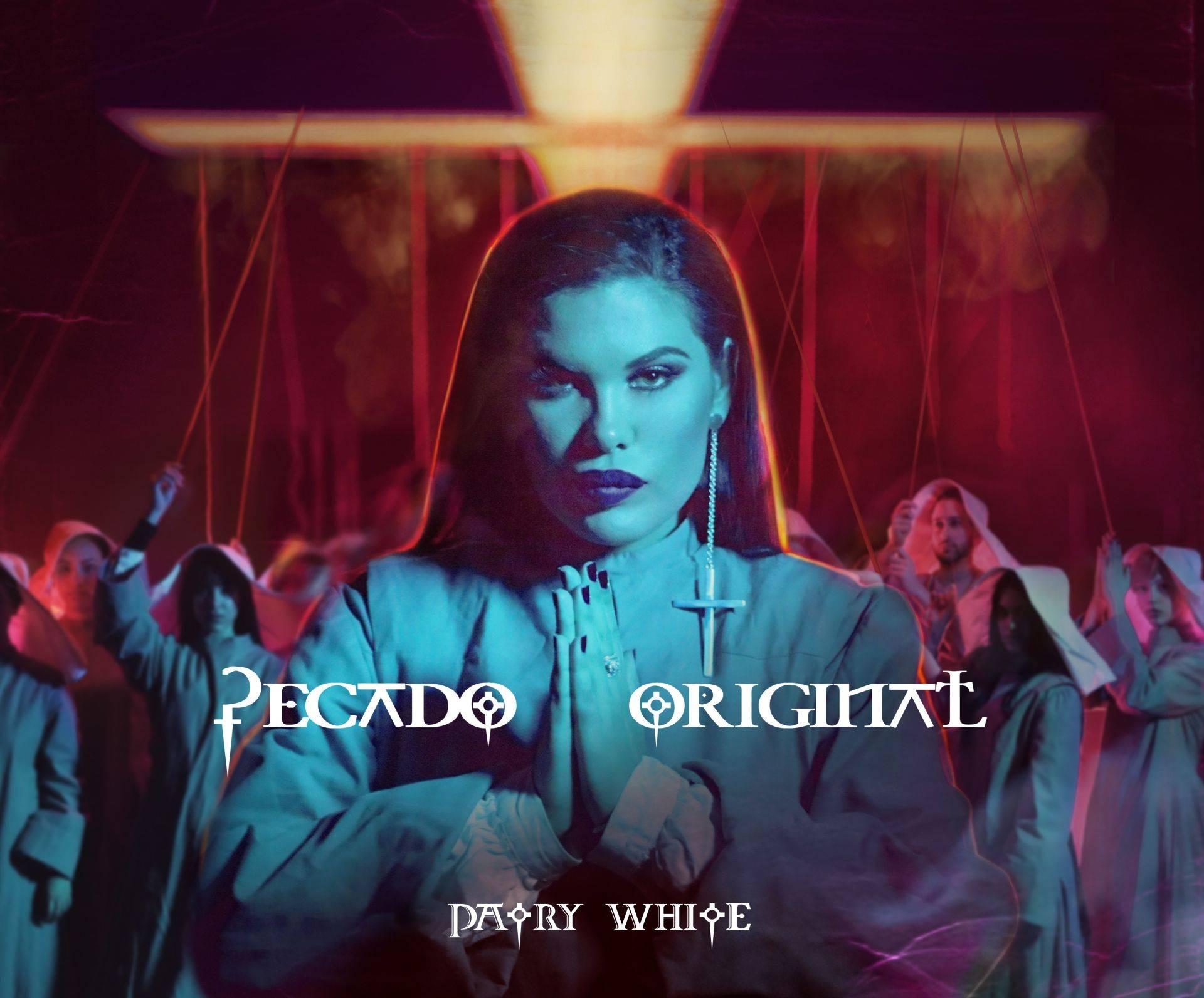 """Portada del álbum """"Pecado Original"""", de Patry White. Foto: cortesía de la artista."""