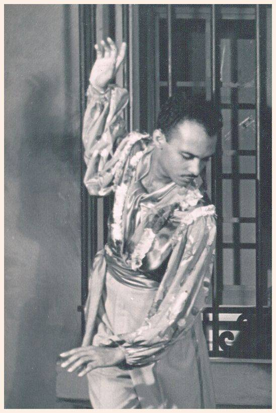 Adalberto del Río. Photo: Private archives Orlando de la Rosa-Adalberto del Río.