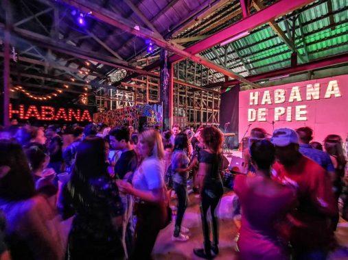 Habana de Pie concert, held at Estudio 50 in support of the victims of the tornado that struck Havana on January 27, 2019. Photo: Francesco Meliciani.