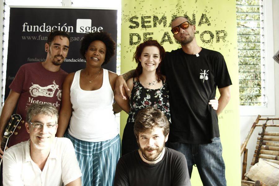Semana de Autor en La Habana, 2015.