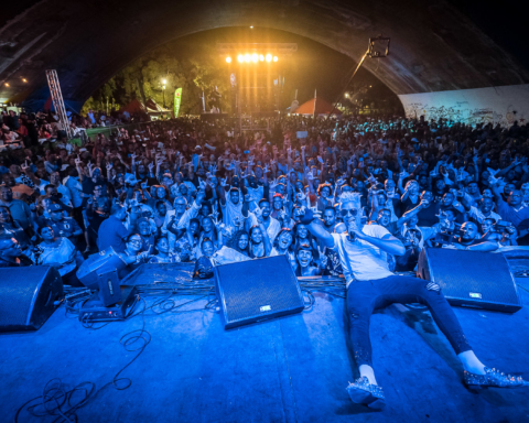 Salsa Festival 2019, Metropolitan Park of Havana. Photo: NATHADREAD PICTURES