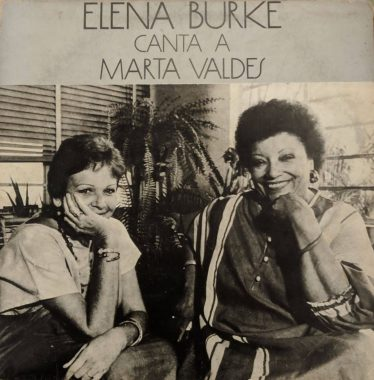 Cover of the album Elena Burke sings to Marta Valdés.