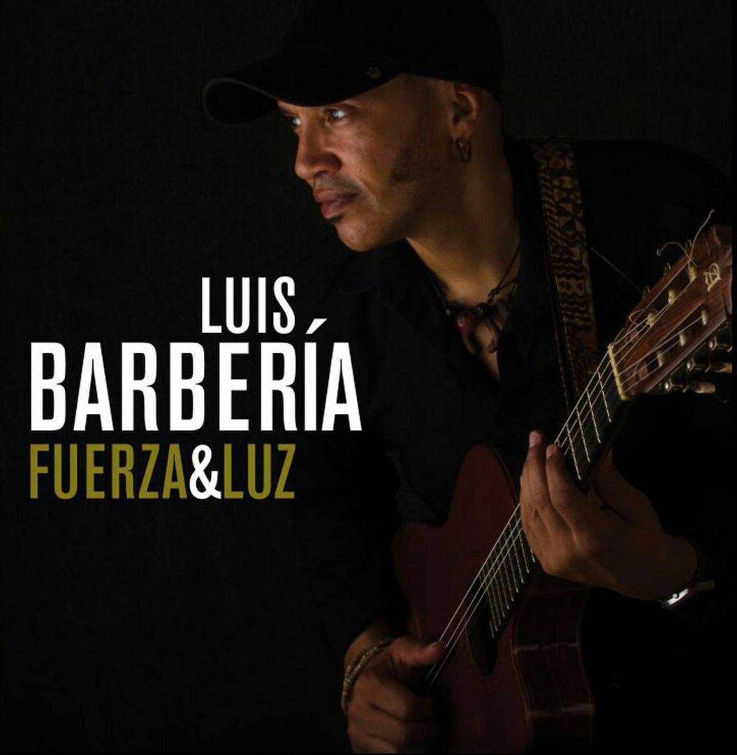 """Cover of the album """"Fuerza y Luz"""", by Luis Alberto Barbería."""