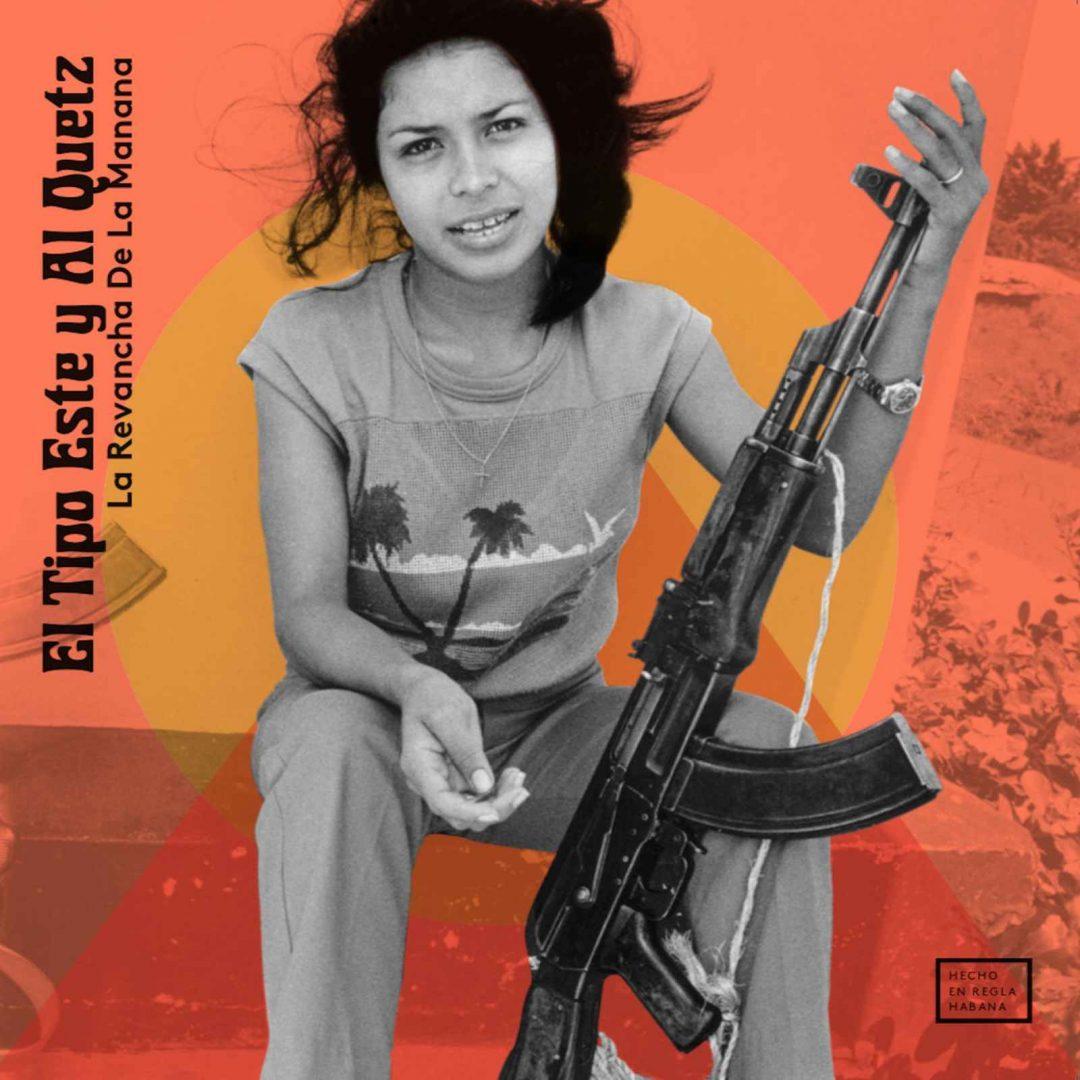 """Portada del álbum """"La revancha de la manana"""", de El Tipo Este y Al Quetz."""