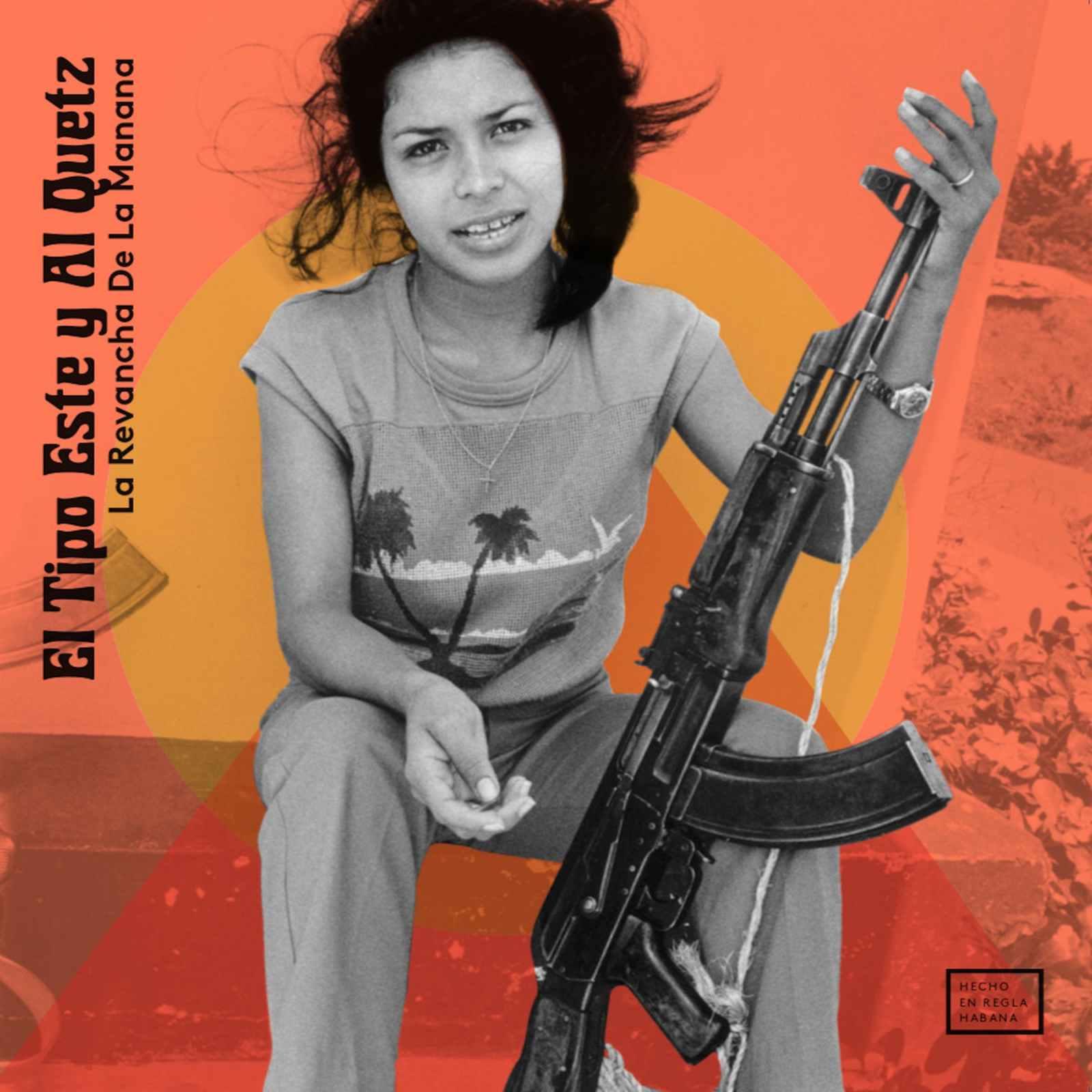 """Cover of the album """"La revancha de la manana"""", by El Tipo Este and Al Quetz."""