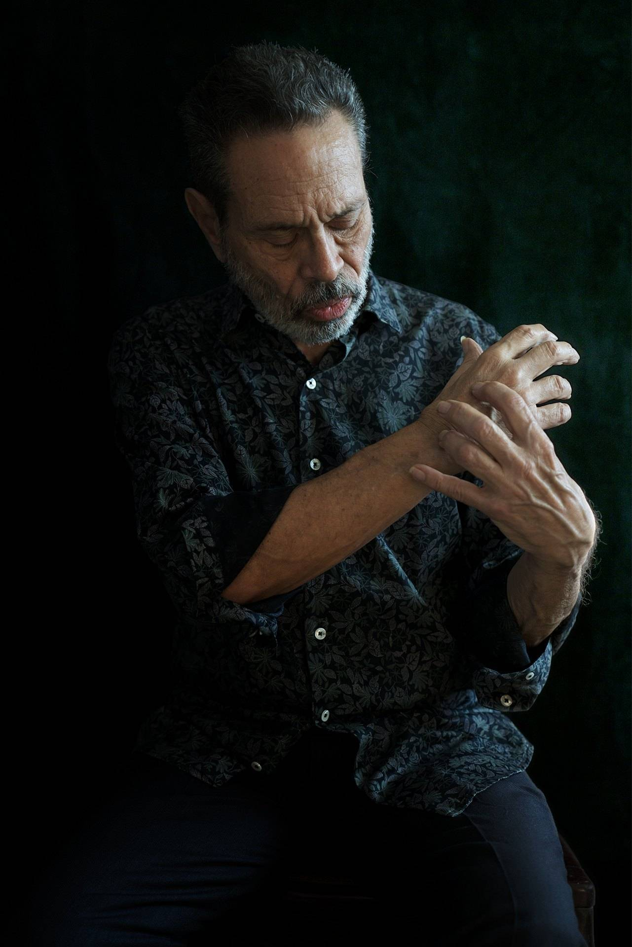 Leo Brouwer, expo +Retratos. Foto: Danay Nápoles.
