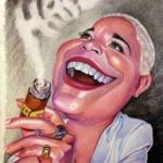 Haila María Mompié. Ilustración: Esteban Isnardi.