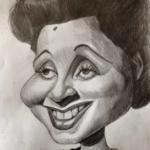 Rita Montaner. Ilustración: Esteban Isnardi.