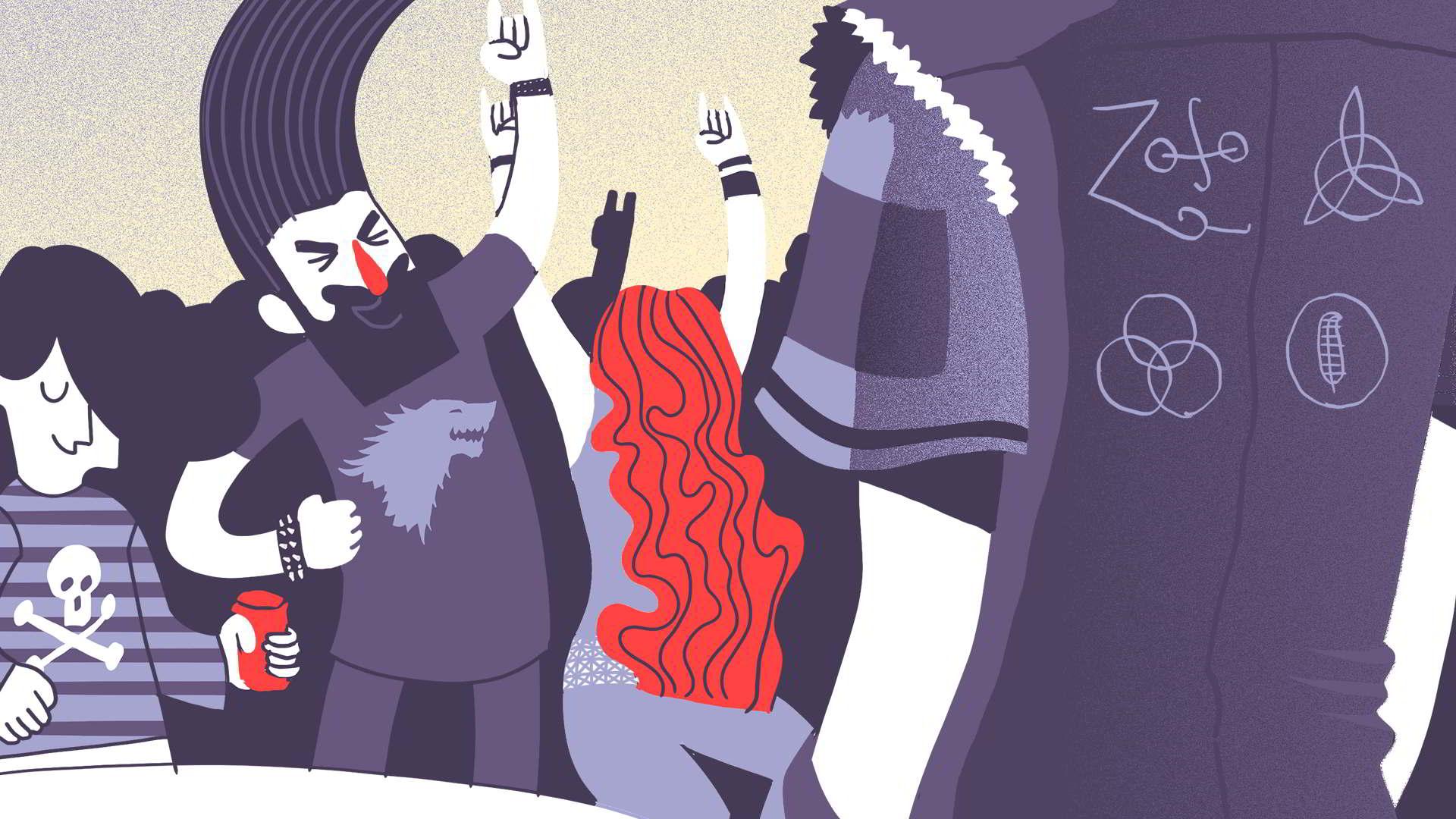 Yellow Submarine. Illustration: Mayo Bous / Magazine AM; PM .