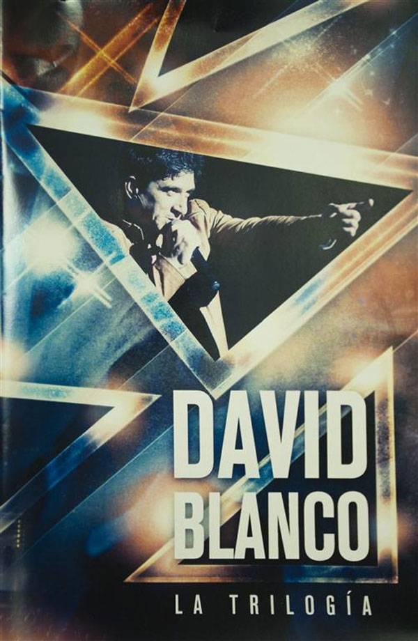 Portada del DVD La Trilogía, de David Blanco (Bis Music, 2019).
