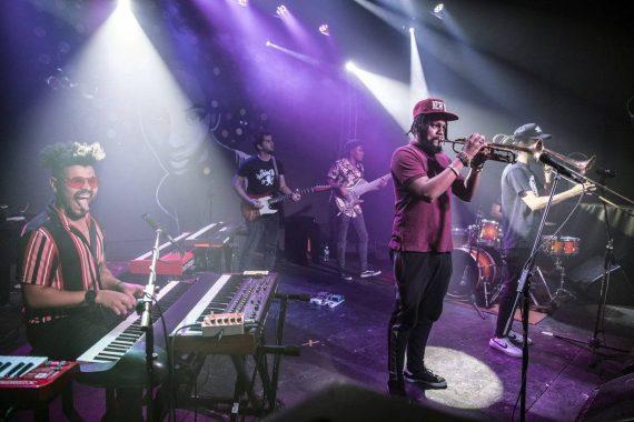 Real Project en concierto en la Fábrica de Arte Cubano. Foto: Larisa López / F.A.C.