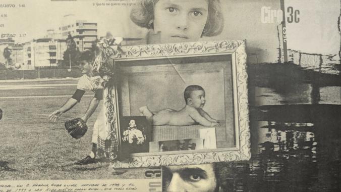 Fragmentos de la portada del álbum Ciro 3C, de Raúl Ciro. Imagen: Mayo Bous.