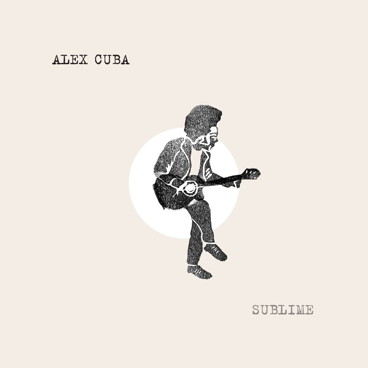 Cover of the album Sublime, by Alex Cuba. Original art by Erin Candela, cover designed by Simon Evers.