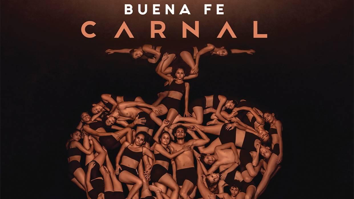 Portada de Carnal, nuevo álbum de Buena Fe. Fotografía: Gabriel Dávalos