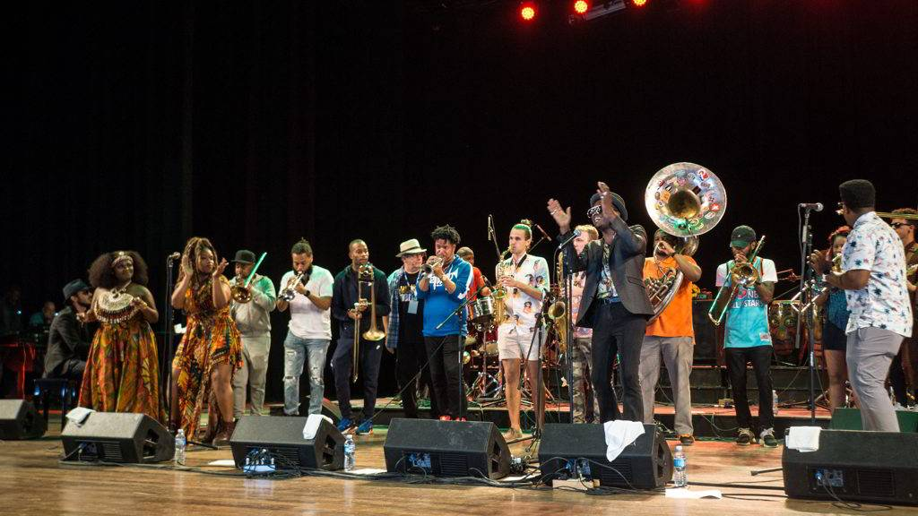Tank and The Bangas, The Soul Rebels, Trombone Shorty Foundation and Cimafunk are part of the line-up of the Getting Funky in Havana event, at the International Jazz Plaza Festival 2020. Photo: Rolo Cabrera / Magazine AM:PM .