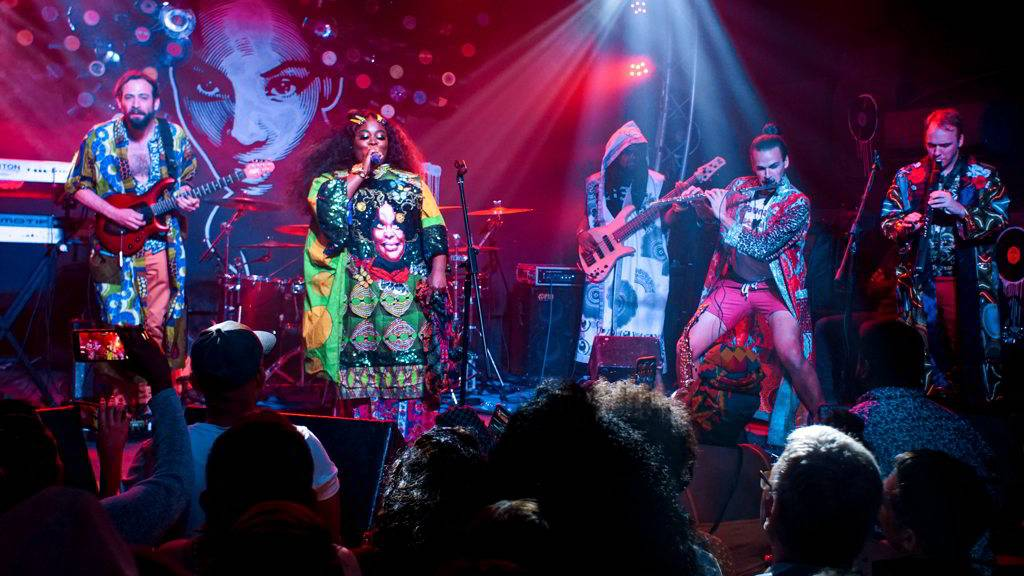 Tank and the Bangas concert at FAC, as part of the Getting Funky in Havana event, at the International Jazz Plaza Festival 2020. Photo: Rolo Cabrera / Magazine AM:PM.