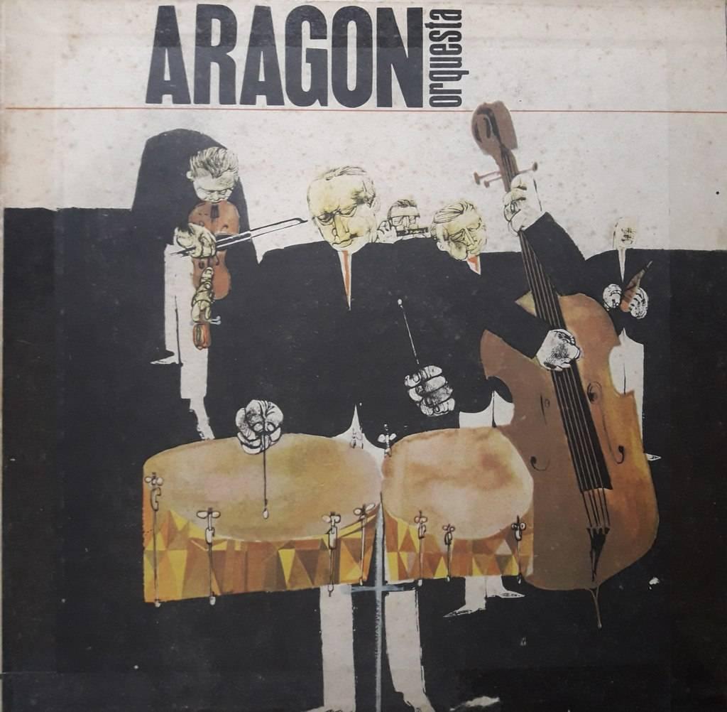 Portada del álbum de la Orquesta Aragón.