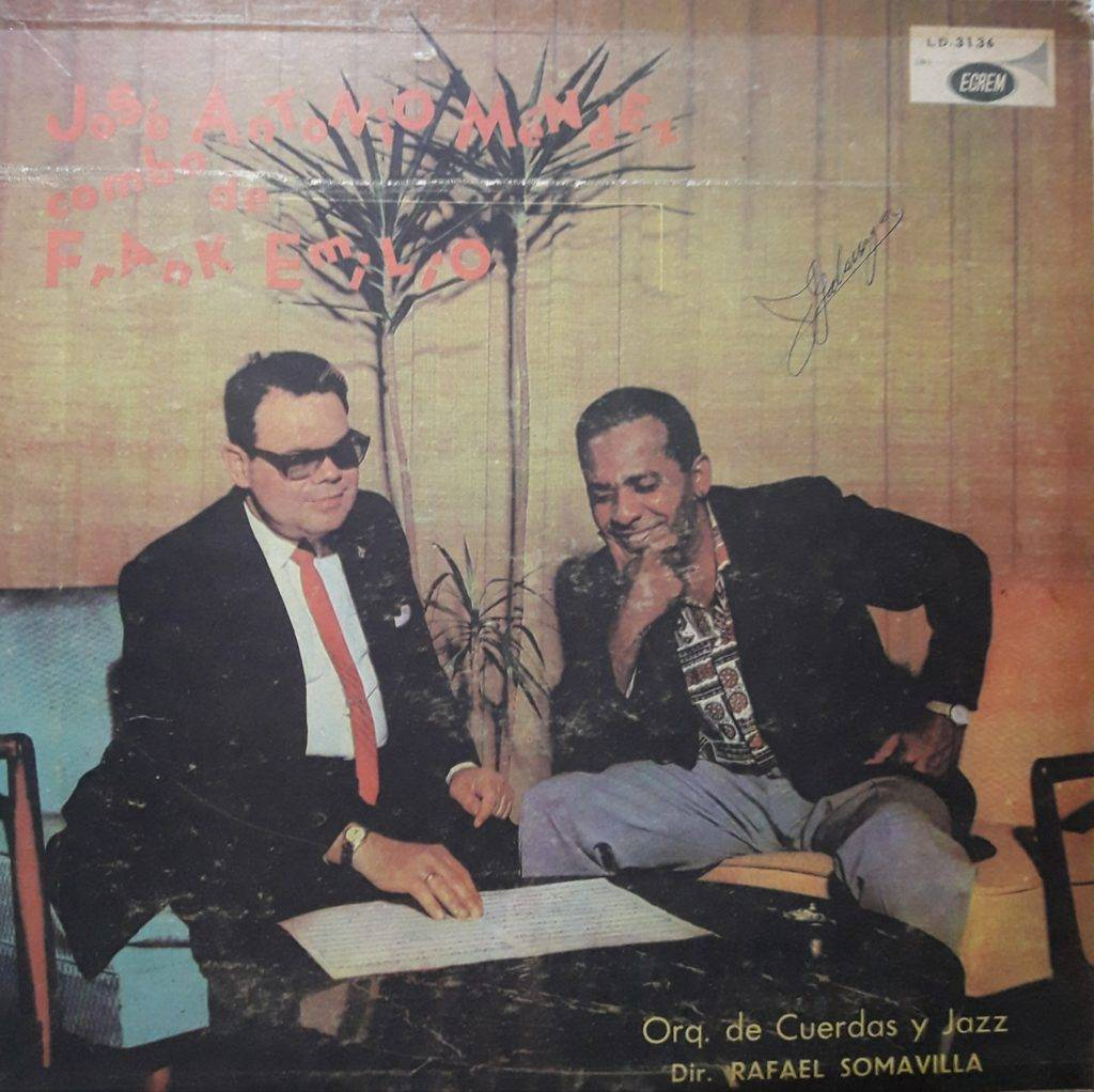 Portada del álbum José A. Méndez.