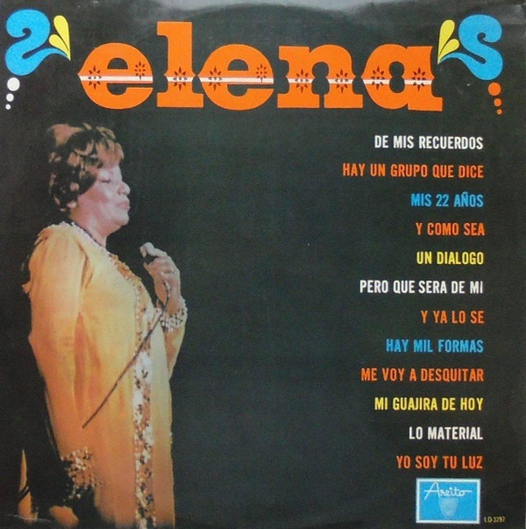 Portada del álbum Elena.