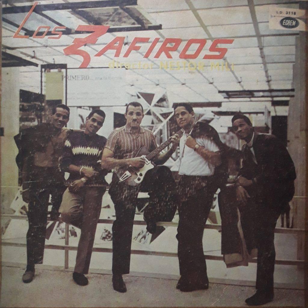 Portada del álbum Los Zafiros.