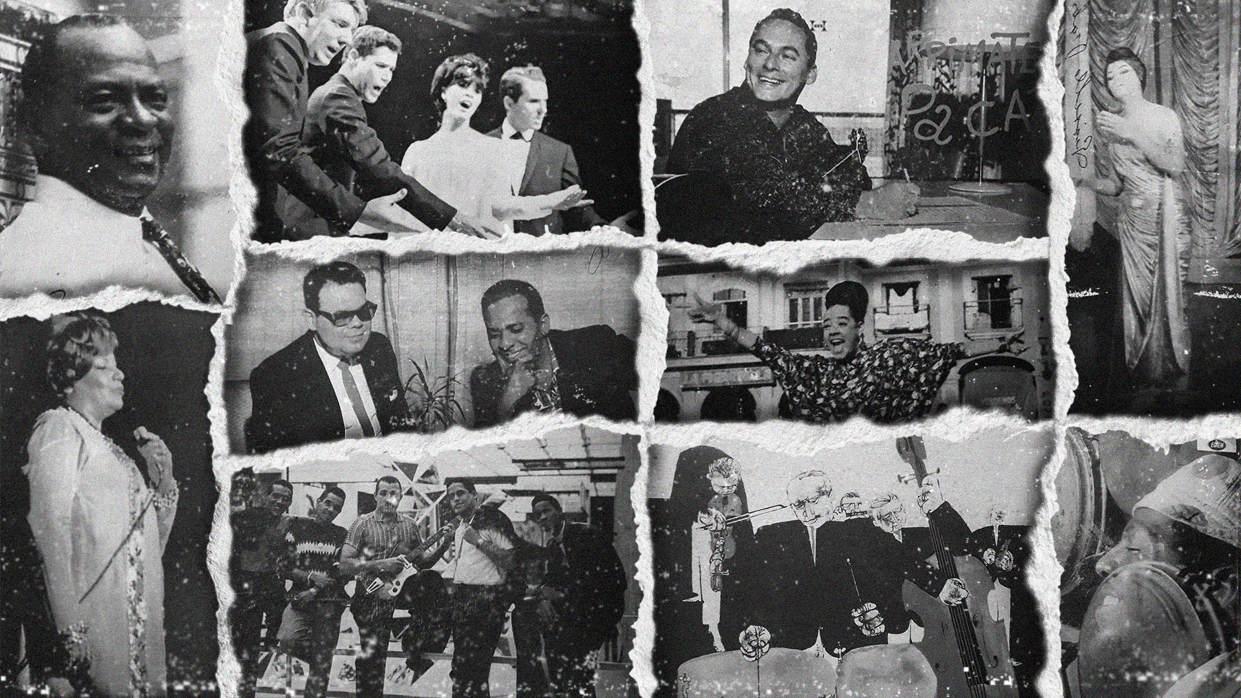 Quince discos cincuentenarios de la Egrem. Imagen: María José Sardiñas.
