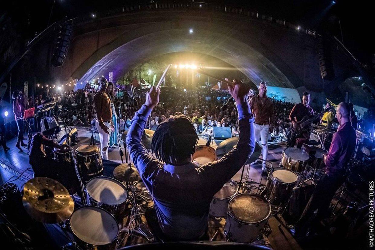 Giraldo Piloto y Klimax en el Festival Internacional de la Salsa 2019. Foto: NATHADREAD.