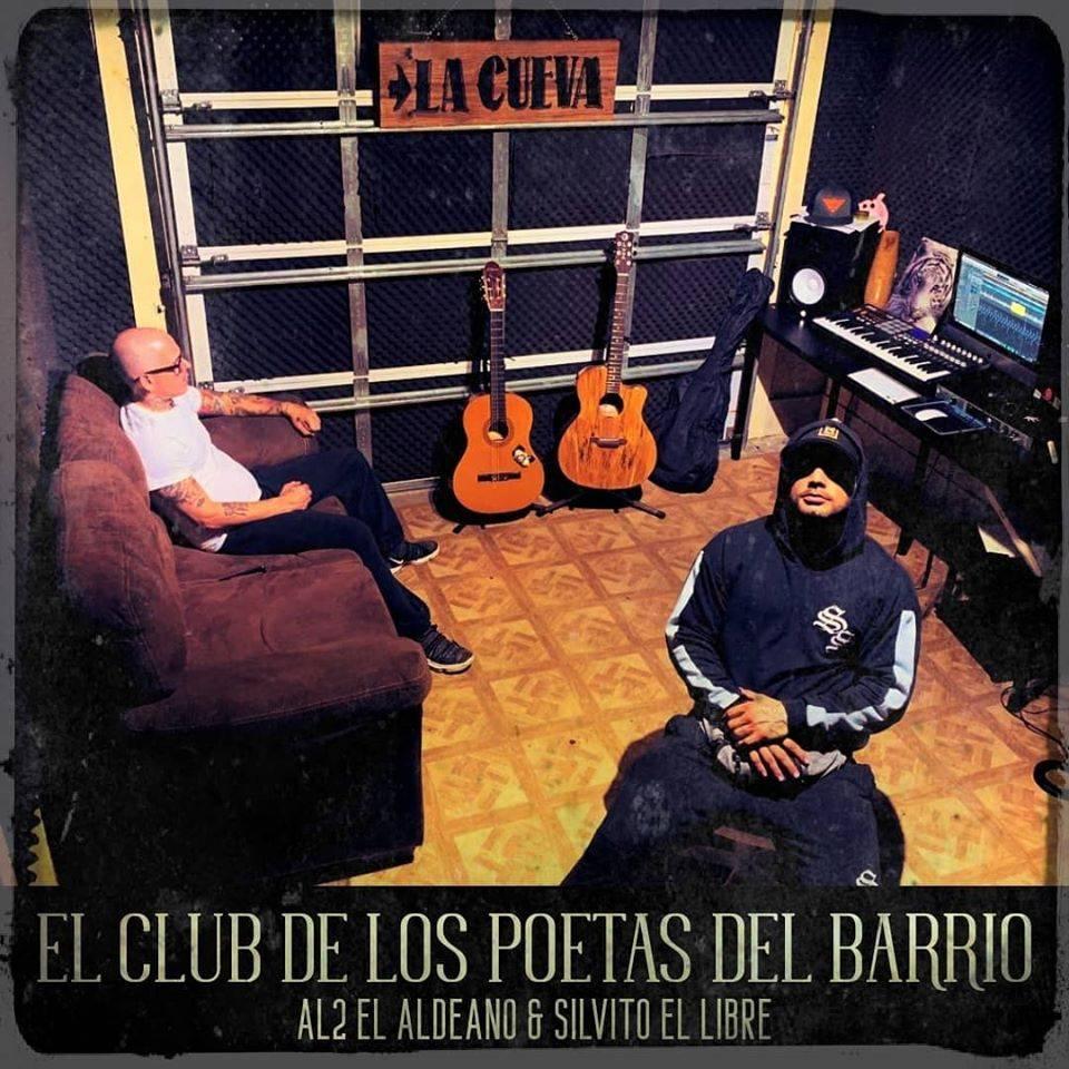 Portada del álbum El club de los poetas del barrio.