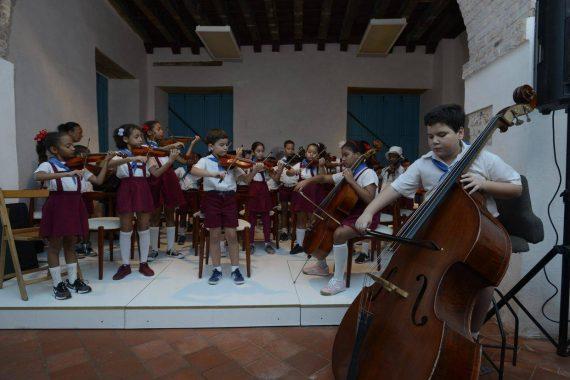 Centro Sinfónico Infantil de La Habana Vieja. Foto: Néstor Martí.