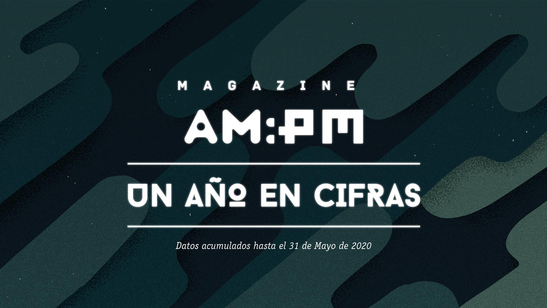 Magazine AM:PM, segundo año en cifras. Ilustración: Mayo Bous.