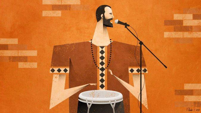 Juan Carlos Piñol. Illustration: Román Alsina