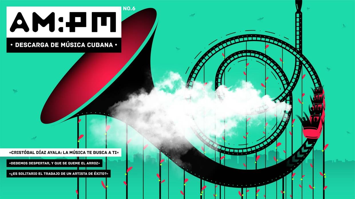 Cover of the Magazine AM:PM no. 6. Illustration: Alucho.