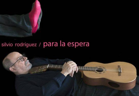Detalle de la portada del álbum Para la espera, de Silvio Rodríguez, a partir de una fotografía de Daniel Mordzinski. Foto: Estudios Ojalá.