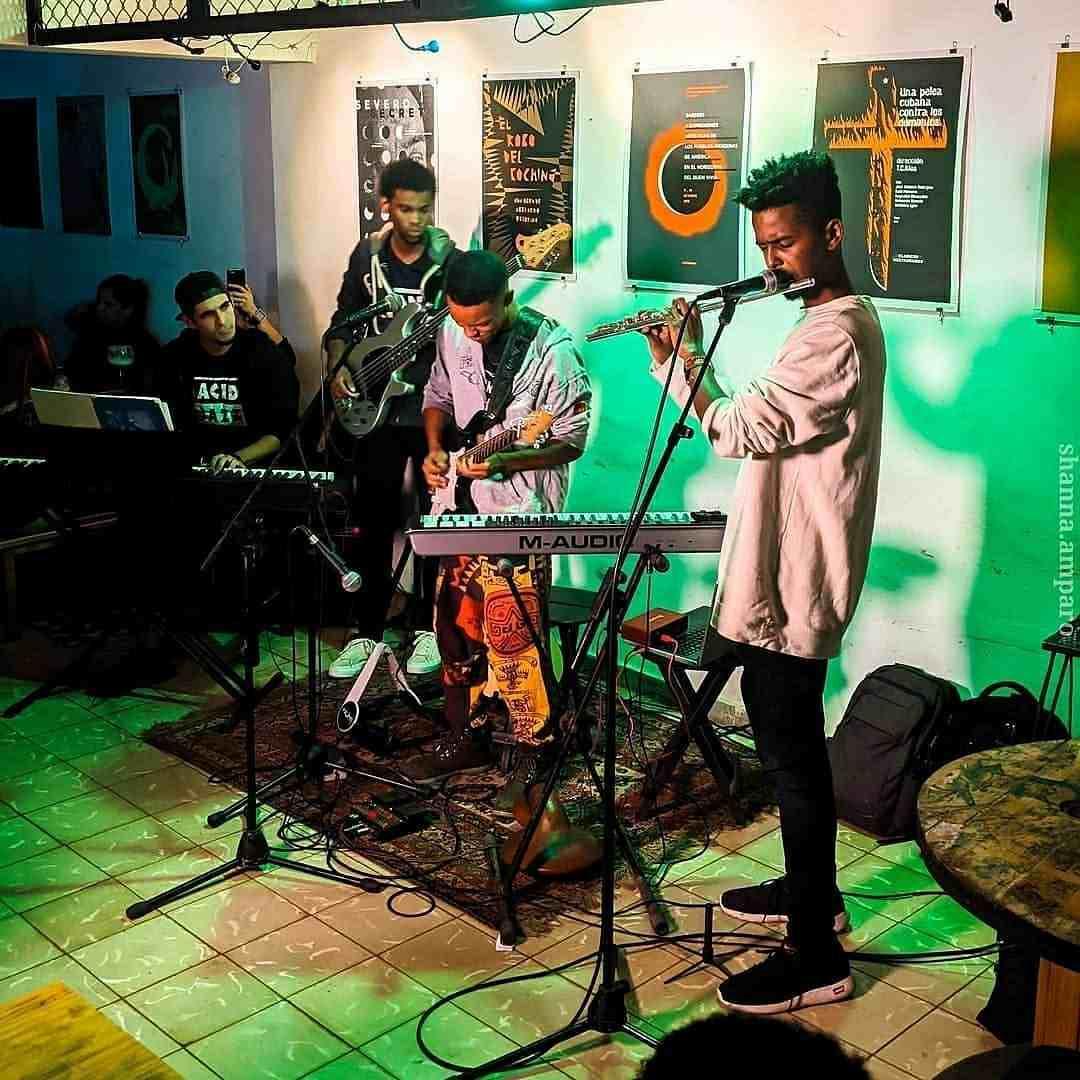 Los Monos Lácteos, ganadores en la categoría de Menores. Foto: Cortesía del Festival Havana World Music.