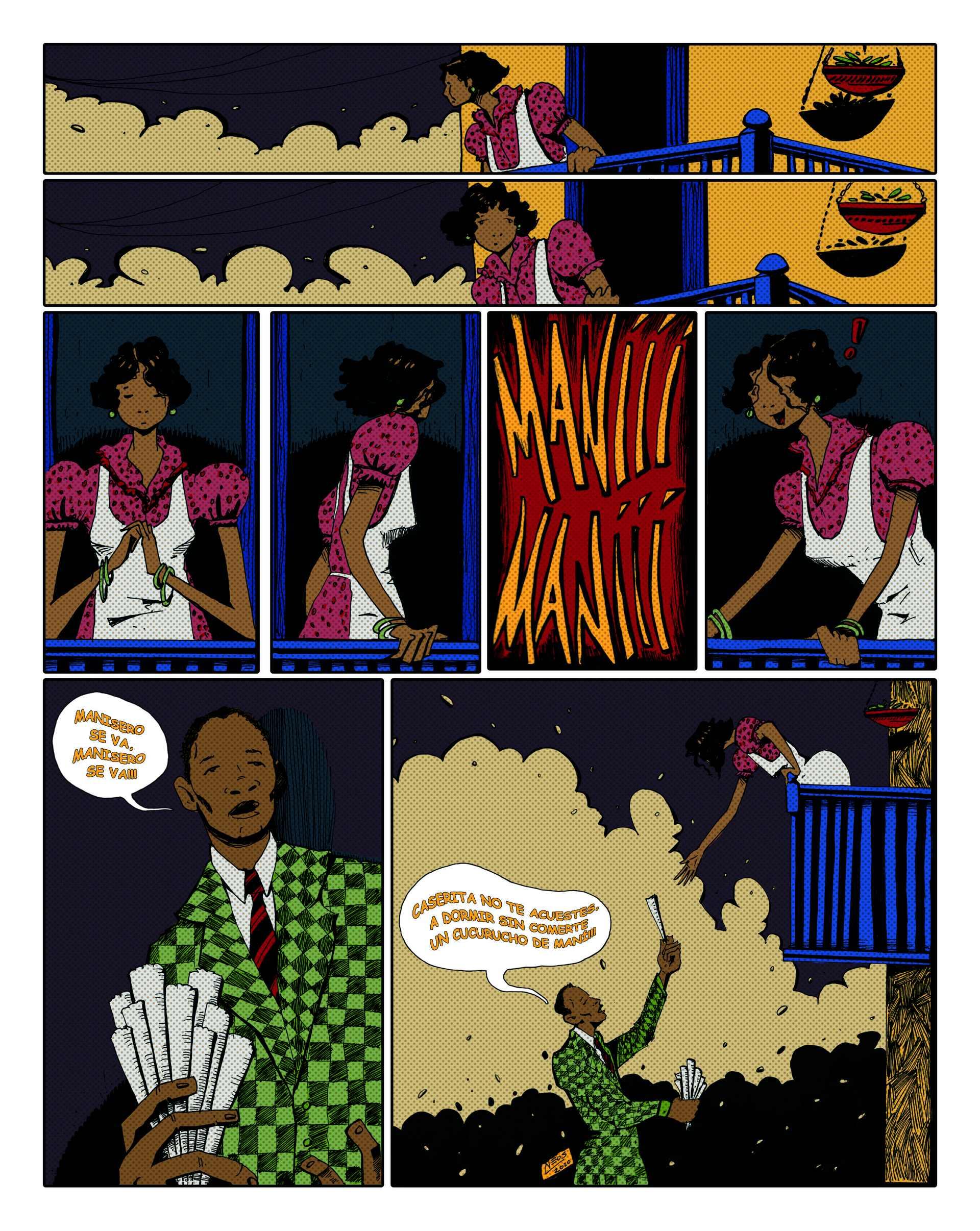 Primer lugar por el cómic Rita Montaner. Autor: Adrián del Pino