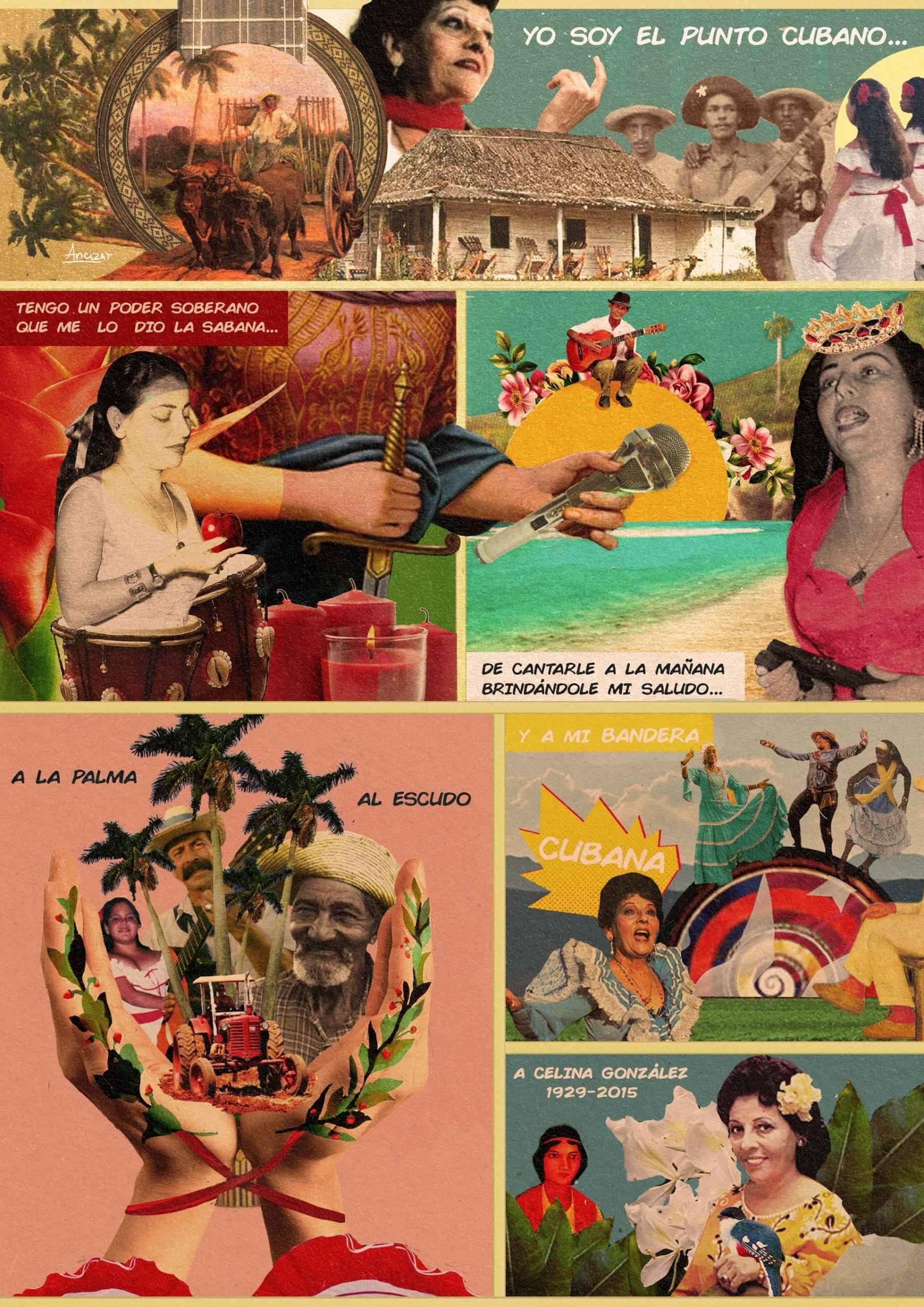 Yo soy el punto cubano. Autora: Jennifer Ancizar.