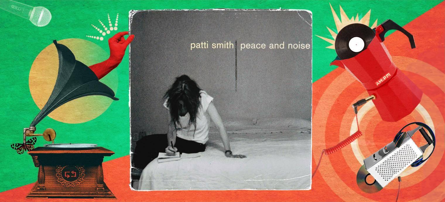Diseño: Jennifer Ancizar a partir de la portada de Peace and Noise