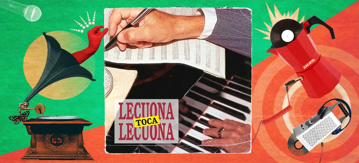 Lecuona toca Lecuona. Diseño: Jennifer Ancízar / Magazine AM:PM