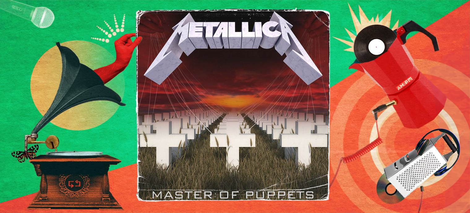 Master of Puppets. Diseño: Jennifer Ancízar / Magazine AM:PM.