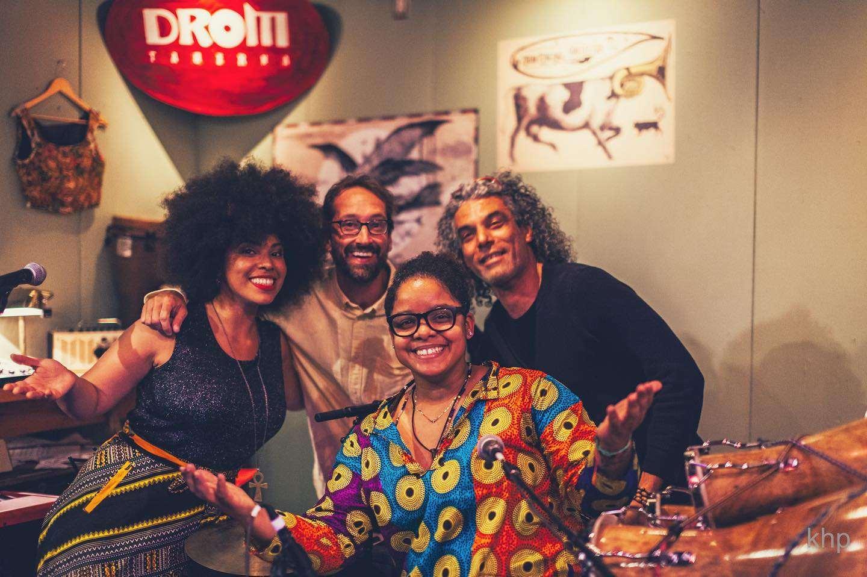 OKAN with Jeremy Ledbetter and Roberto Riverón at DROM Taberna, Toronto. Photo: Ksenija Hotic.