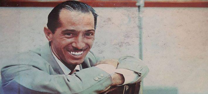 Fragmento de la portada del álbum Vallejo canta.
